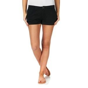 J. Crew Black Chino Shorts